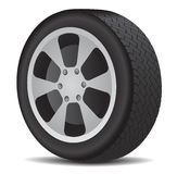 Auto wheel Royalty Free Stock Photography