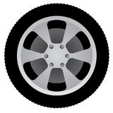 Auto wheel Royalty Free Stock Photos