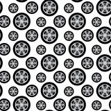 Auto wheels Stock Photography