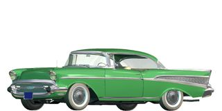 Auto wijnoogst Royalty-vrije Stock Foto's