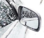 Auto Wing Mirror Stockfoto