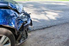 Auto wypadek zdjęcia royalty free