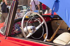Auto zjednoczenia Sp 1000 wnętrze Fotografia Royalty Free