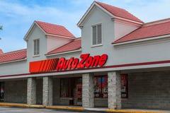 Auto Zone Car Parts Store Stock Photos