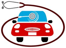 Auto zorg vector illustratie