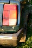 Autoachterlicht Stock Foto's