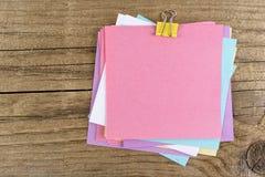 Autoadesivi colorati Fotografia Stock