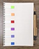 Autoadesivi colorati Fotografie Stock
