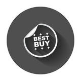 Autoadesivi di Best Buy Immagine Stock Libera da Diritti