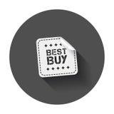 Autoadesivi di Best Buy Fotografia Stock