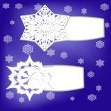 Autoadesivi di stagione invernale royalty illustrazione gratis