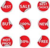 Autoadesivi di vendita Fotografie Stock