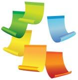 Autoadesivi multicolori Immagine Stock