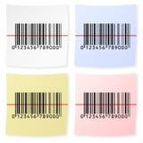 Autoadesivo del codice a barre Immagini Stock Libere da Diritti