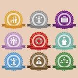Autoadesivo dell'etichetta dell'etichetta dei distintivi Immagine Stock Libera da Diritti