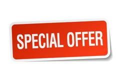 Autoadesivo di offerta speciale royalty illustrazione gratis