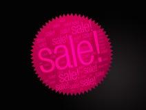 Autoadesivo di vendita fotografie stock libere da diritti