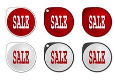 Autoadesivo di vendita Immagine Stock