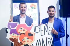 Autoadesivo di Viber, modo di Bipa ora, Zagabria, Croazia Immagine Stock Libera da Diritti