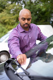 Autoanmerkung lizenzfreies stockbild