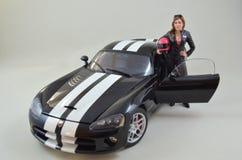AutoArt för Dodge huggorm1:18 modell arkivfoton
