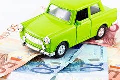 Autoausgaben Stockbild