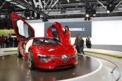 Alfa Romeo-Rennwagen Lizenzfreies Stockbild