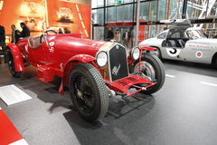 Alfa Romeo in der Bologna-Autoausstellung Lizenzfreie Stockbilder