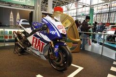 Yamaha in der Bologna-Autoausstellung Lizenzfreies Stockbild