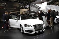 Audi in der Bologna-Autoausstellung Stockfotografie