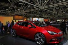Opel GTC in der Bologna-Autoausstellung Stockfotografie