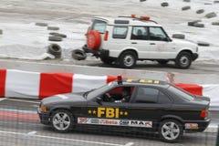 FBI, das Anzeige fährt Lizenzfreies Stockbild