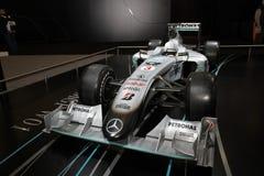 Rennwagen Mercedes Mclarens F1 Lizenzfreies Stockfoto