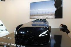 Konzeptauto Peugeots EX1 Lizenzfreie Stockfotografie