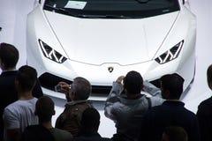 Autoausstellung Stockfoto