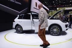 Autoausstellung Lizenzfreies Stockfoto