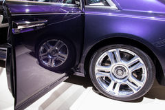 Autoausstellung Lizenzfreie Stockfotos
