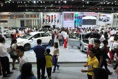 Autoausstellung in Bangkok Stockfotografie