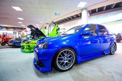 Autoausstellung bei 4 Tunning Tagen Lizenzfreie Stockfotografie