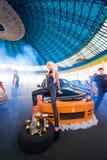 Autoausstellung bei 4 Tunning Tagen 2010 Stockfotografie