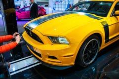 Autoausstellung Posen 2014 Stockfotos