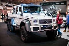 Autoausstellung Posen 2014 Lizenzfreies Stockfoto