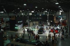 Autoausstellungsstandort Lizenzfreies Stockfoto