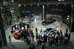 Autoausstellungsstandort Stockfotografie