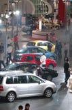 Autoausstellungsstandort Stockfoto