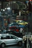 Autoausstellungsstandort Stockbilder