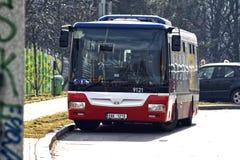 Autobús checo de Praga Fotos de archivo libres de regalías