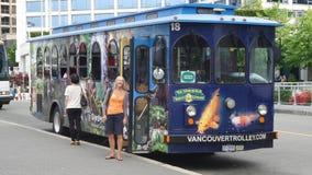 Autobús de carretilla de Vancouver Imagenes de archivo