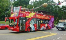 Autobús de dos pisos Imágenes de archivo libres de regalías