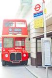 Autobús de dos plantas Imagen de archivo libre de regalías